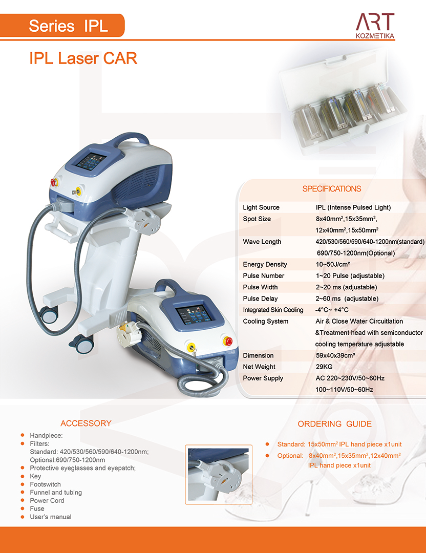 IPL laser CAR 1080